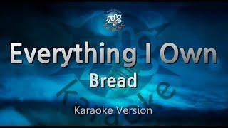 BreadEverything I Own (Melody) (Karaoke Version) ZZang KARAOKE