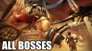 Prince of Persia - The Two Thrones - All Bosses (With Cutscenes) 1080p60 PC HD