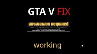 """Bypass GTA V """"Activation Required"""" OFFLINE!!! +GTA V Download Link"""