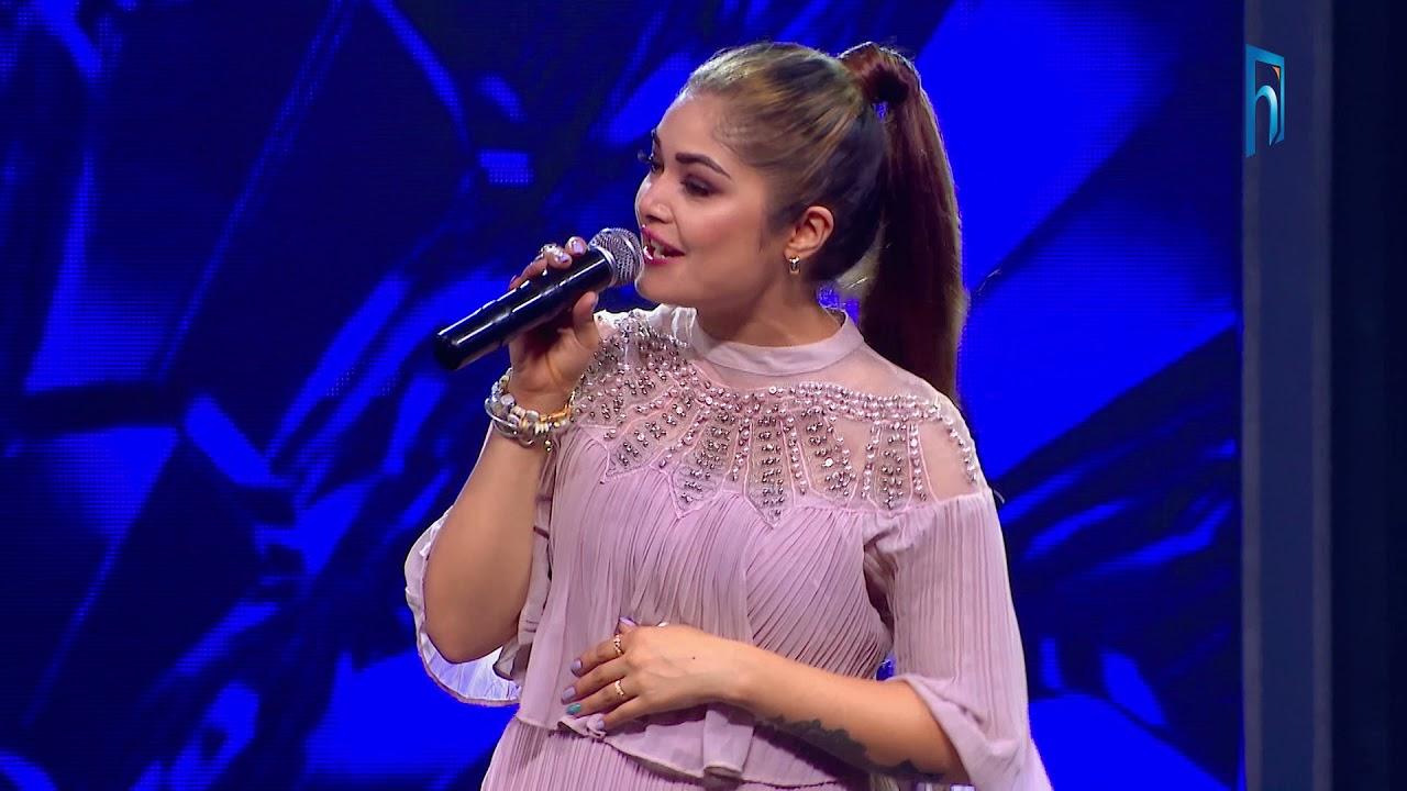 """Download Prabisha Adhikari """"Phoola Hoina & Jindagi Nai Bhandina""""   Finale Performance   The Voice of Nepal S3"""