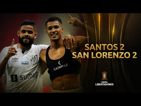 Santos San Lorenzo Goals And Highlights