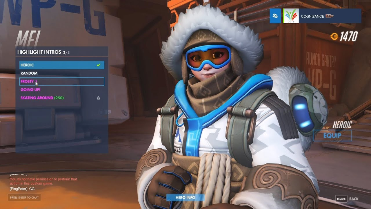 overwatch how to play yeti hunter