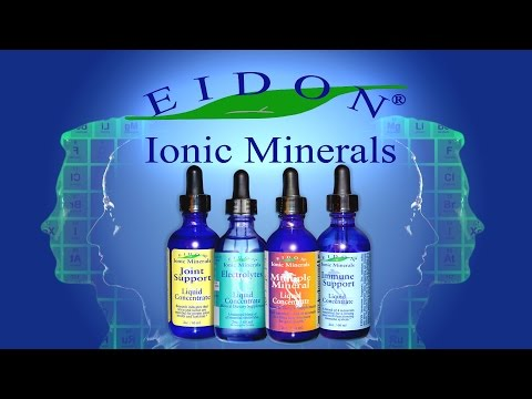 Eidon Ionic Minerals - Multiple Mineral, Electrolytes, Immune & Joint Support