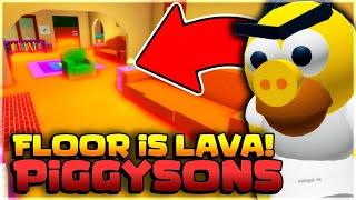 🔴 NOS INVADE LA LAVA EN PIGGYSONS | ROBLOX | GAMEPLAYSMIX
