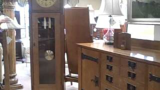 Furniture Spotlight: Stickley Mission Oak Grandfather Clock - Piece Of The Week