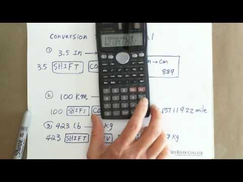 Scientific Calculator: Unit Conversion between SI & Imperial