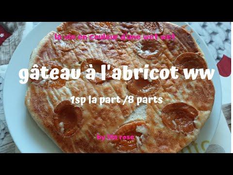 gâteau-à-l'abricot-ww-🍊🍊-1sp-la-part