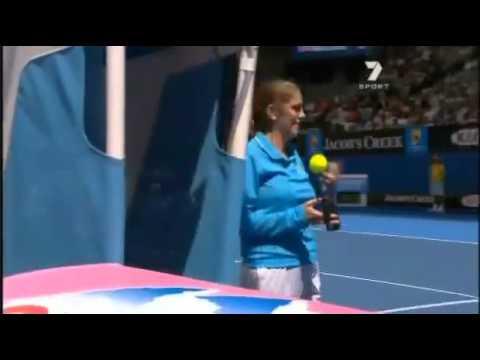 Dead Spot on Hisense Arena (Maria Sharapova)