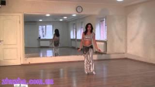 Тренировка по восточным танцам. Урок № 2