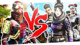 Solo Vs. Champion Squad Ultimate Showdown! - PS4 Apex Legends!
