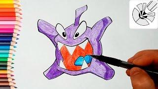Как нарисовать Буку карандашом (Приключения Ам Няма) - Рисование и раскраска для детей