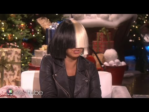 "Sia Takes Off Her Wig For Ellen & Performs ""Alive"""