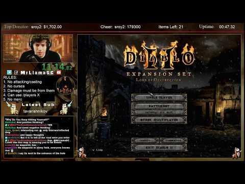 Diablo 2 - PACIFIST Paladin Speedrun WORLD RECORD**