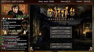Diablo 2 - PACIFIST Paladin Speedrun WORLD RECORD**