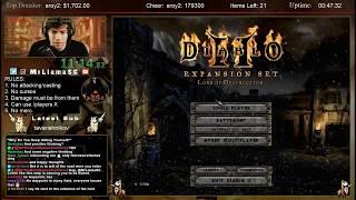 Diablo 2 - PACIFIST Paladin Speedrun**