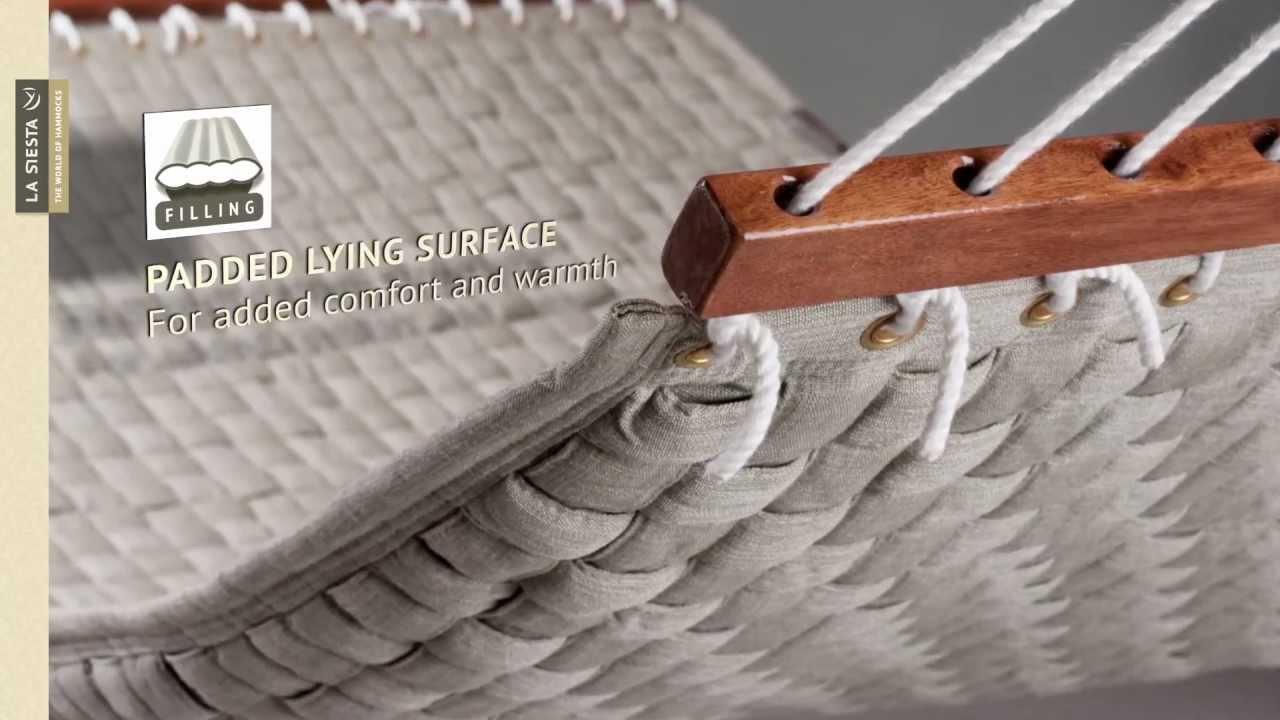 la siesta louisiana   luxury hammock with basket weave la siesta louisiana   luxury hammock with basket weave   youtube  rh   youtube