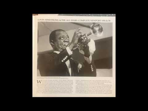"Lounge Audio Needle Drops -  Louis Armstrong Newport 1956 & 58 ""Pennies From Heaven"""
