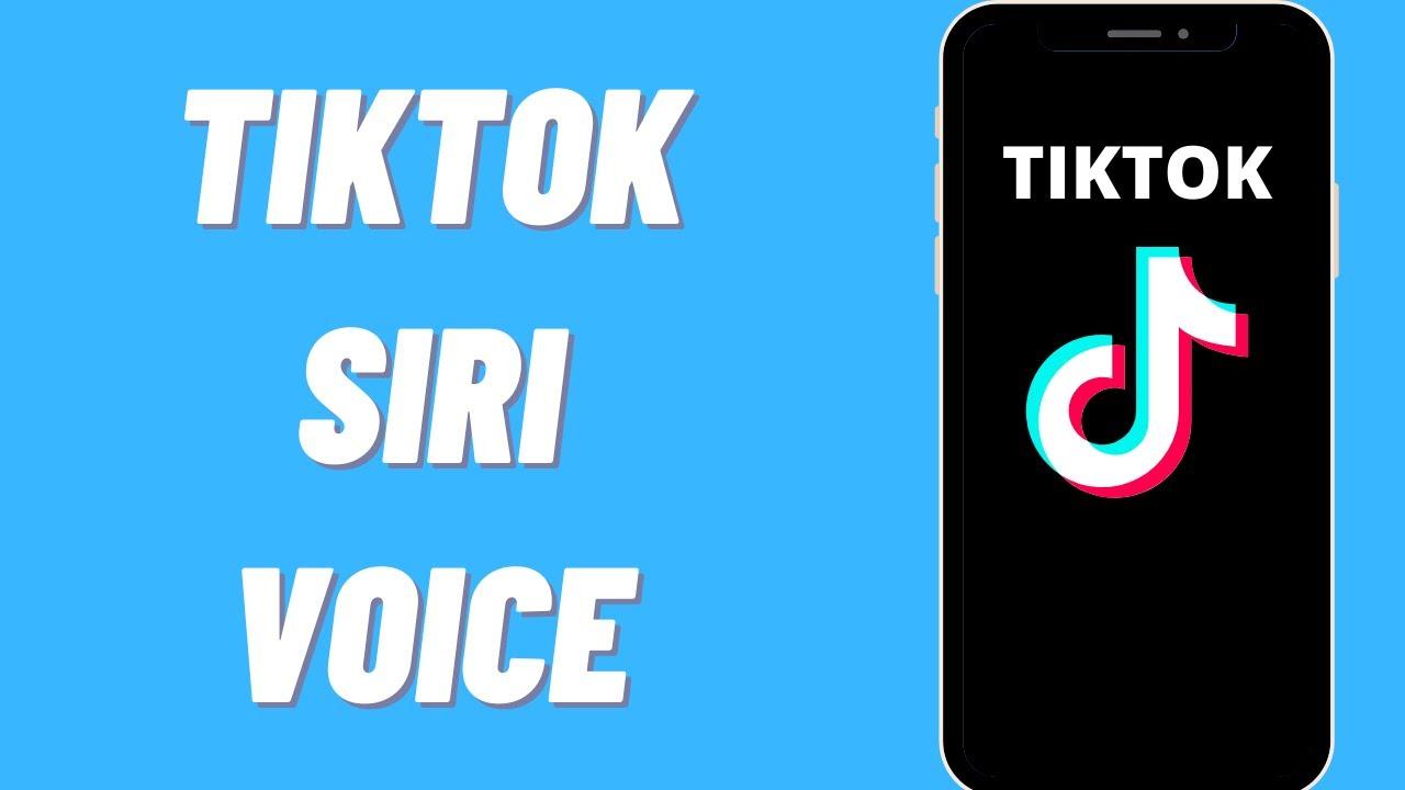 Siri Voice on TikTok