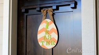 Diy Easter Door Hanger