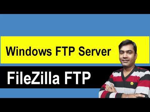 How To Host An FTP Server On Windows With FileZilla - FileZilla Tutorial (Hindi)
