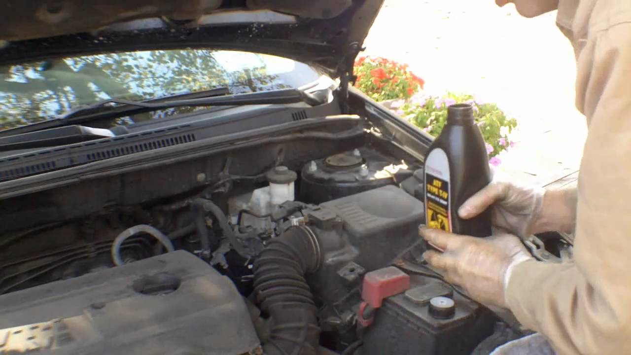 Watch on ford explorer transmission fluid dipstick location