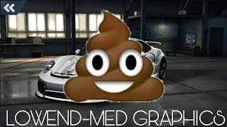 LOW-END MIX WITH MID GRAPHICS | NEED FOR SPEED NO LIMITS