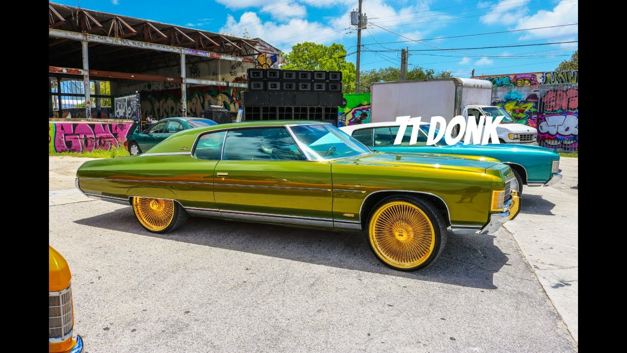 71 Og Impala On All Gold Daytons In Hd Must See Youtube