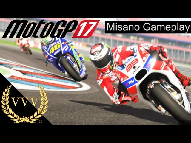 MotoGP 17 Gameplay - Misano