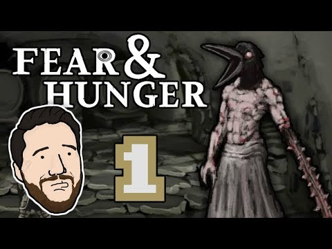 BODY HORROR DUNGEON CRAWLER | Let's Play Fear & Hunger (Blind) - PART 1 | Graeme Games | Gameplay