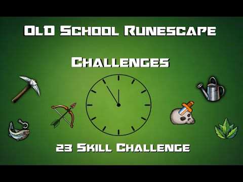 OSRS Challenges: 23 Skill Challenge - Runescape 2007