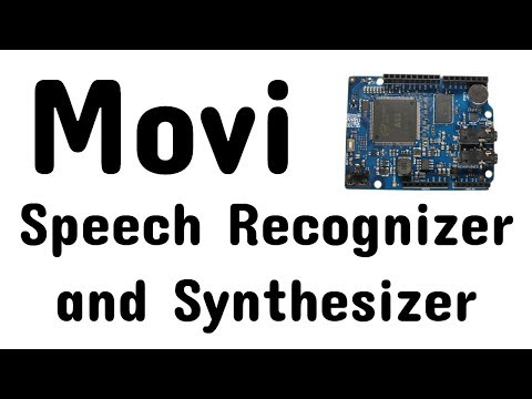 Movi Speech Recognition & Synthesizer For Arduino
