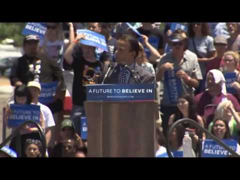 Full Speech  Bernie Sanders Rally in San Jose, California 5 18 16 Santa Clara County Fairgrounds