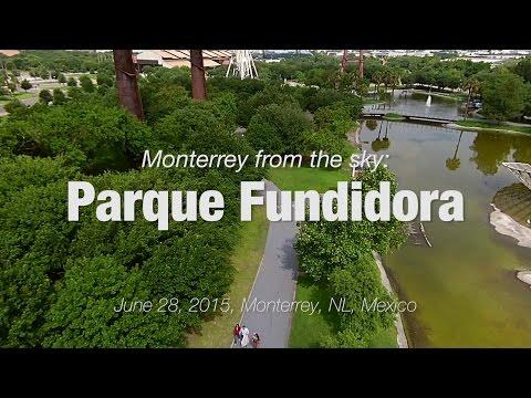 Parque Fundidora: Monterrey from the sky