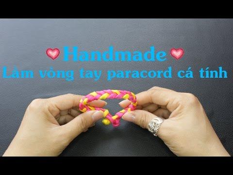 Handmade – Làm vòng tay cá tính nhanh và đơn giản bằng dây paracord – Kênh Giải Trí