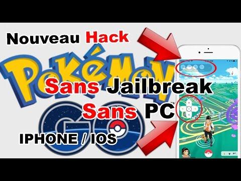 NOUVEAU HACK POKEMON GO IOS IPHONE SANS JAILBREAK SANS PC - JOYSTICKS TP HACK