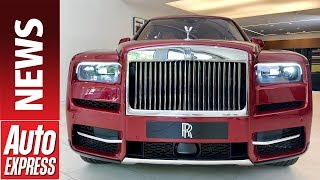 New Rolls-Royce Cullinan - luxury British brand reveals SUV contender