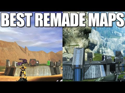 Best Halo Remade Multiplayer Maps From EVERY Game