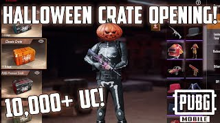 HALLOWEEN CRATE OPENING 10 000 UC SPENT PUBG Mobile