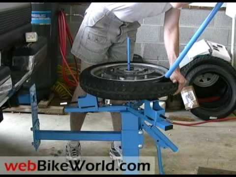 Cycle Hill Motorcycle Tire Changer Youtube