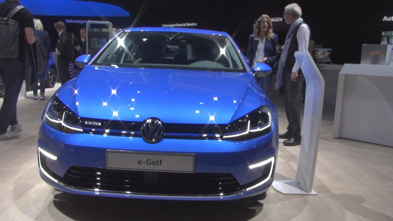 Volkswagen E Golf 100 Kw 2018 Exterior And Interior Youtube