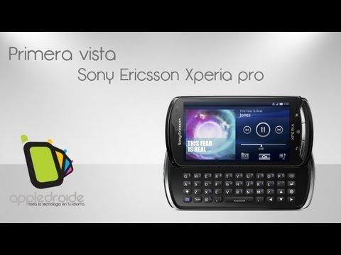 Sony Ericsson Xperia Pro (Primera vista)