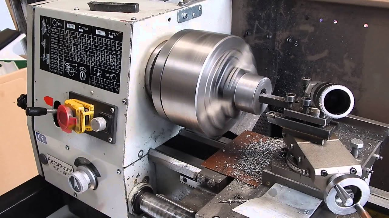 Using A Carbide Boring Bar On A Cheap Chinese Lathe Youtube