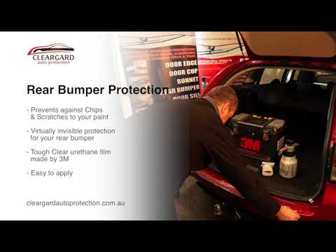 Cleargard 3m Rear Bumper Protection Film Youtube