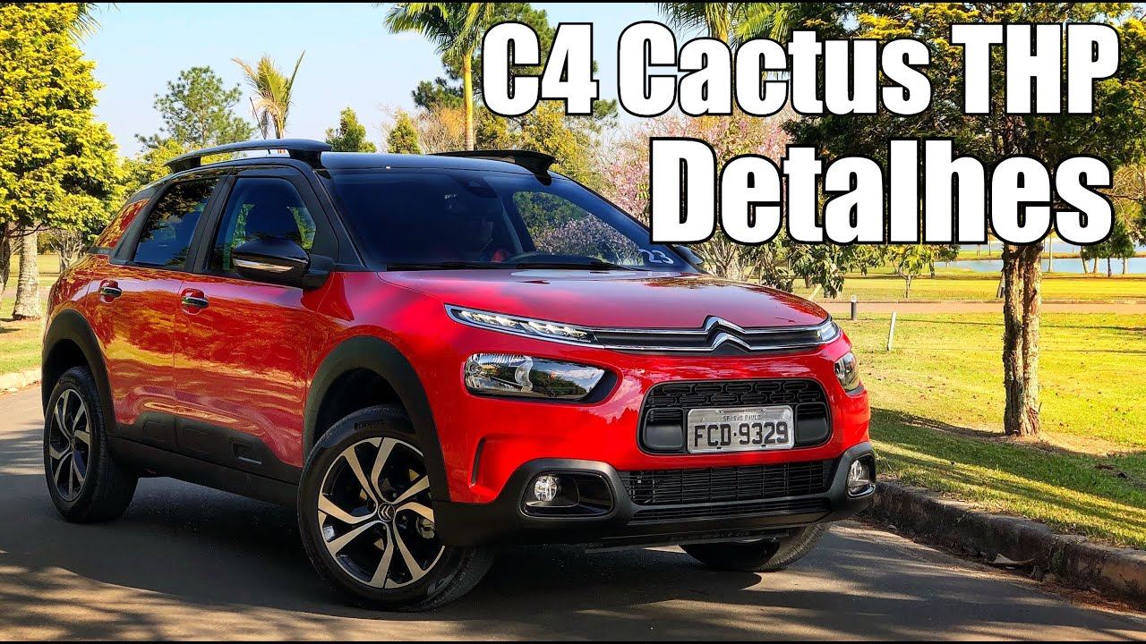 citroen c4 cactus 2019 em detalhes falando de carro youtube. Black Bedroom Furniture Sets. Home Design Ideas