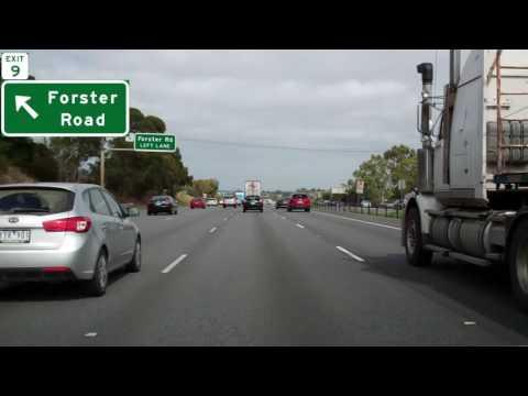 Monash Freeway Inbound, Melbourne, Australia