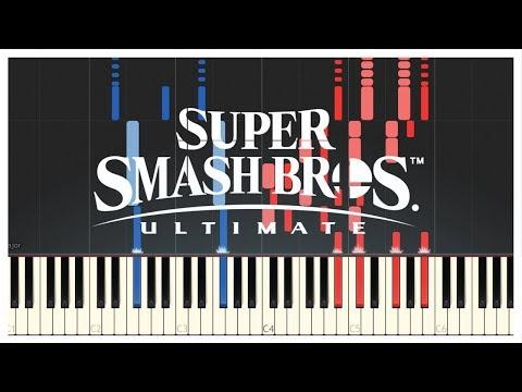 Super Smash Bros. Ultimate OST - Main Theme // Piano Cover