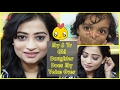 Must Watch My 5 Year Old Daughter Does My Voice Over - Bold Smokey eyes with Nude Lips Makeup