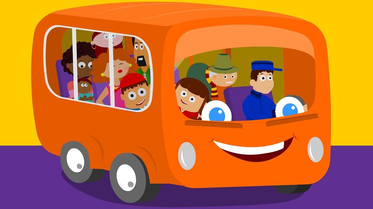 Wheels On The Bus | Bus Rhymes | Nursery Rhymes - YouTube