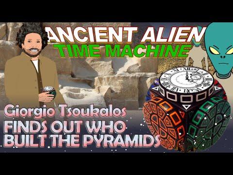 Resultado de imagen para giorgio tsoukalos TIME MACHINE