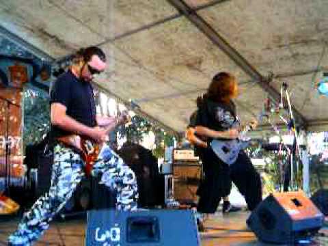 Grimegod Live at RockFest port artur ARAD 2007